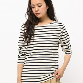 MARGARET HOWELL - NAVAL STRIPE JERSEY