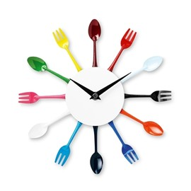 TIGER - WALL CLOCK WITH CUTLERY