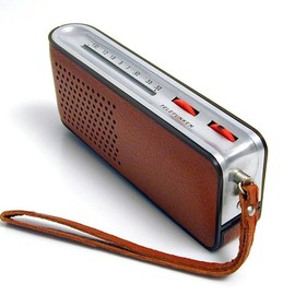 Telefunken - Portable transistor radio by Richard Sapper