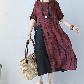 Loose dress summer - summer Wear it before and after long Women dresses Loose dress summer sundress formal dress