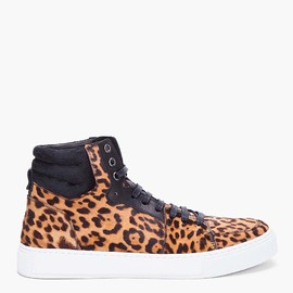 Yves Saint Laurent  - Leopard Malibu High Top Sneaker