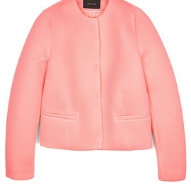 SIMONE ROCHA - Simone Rocha Knitted Wafer Mesh Collarless Jacket
