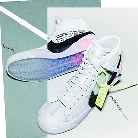 NIKE, Off-White - The 10: Nike Blazer Mid Serena 'Queen'