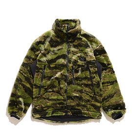 THE NORTH FACE PURPLR LABEL - Camouflage Fur Field Jacket-CF