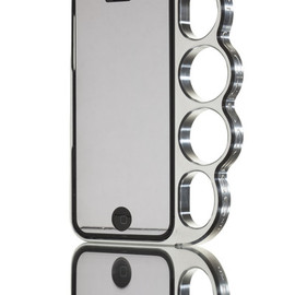 (The Original )Knucklecase - for iPhone 5 & 5s silver