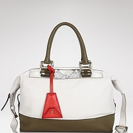 DIANE von FURSTENBERG - DVF/Satchel - Drew Patchwork Leather | Bloomingdale's