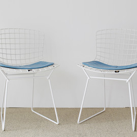 Harry Bertoia Plastic Side Chairs