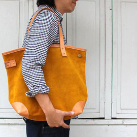 The Superior Labor - Suede tote Yellow