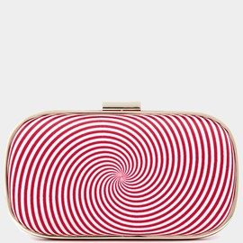 ANYA HINDMARCH - Fall 2013 Marano Eye Twister Swirl Clutch