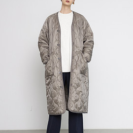 HYKE - QUILTED LINER COAT