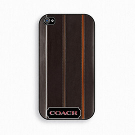 Coach - Coach Leather  iPhone 4 Case, iPhone 4s Case, iPhone 4 Cover, Hard iPhone 4 Case