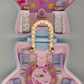 Polly Pocket - 1992 - Polly Pocket Fashion  Fun Bluebird Toys Interior