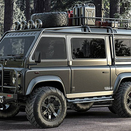 Land Rover, Samir Customs - Van Defender - Gunmetal