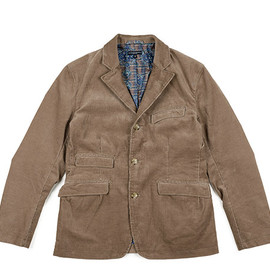 ENGINEERED GARMENTS - Andover Jacket-14w Corduroy-Khaki