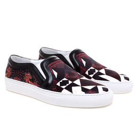 GIVENCHY - Scarf Printed Skate Shoe