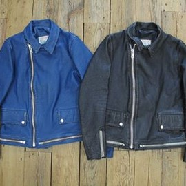 "UNDER COVER - "" Men's distressed effect Bikers Blouson "" UNDER COVER"