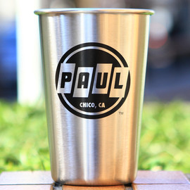 Paul - stainless steel pint glass