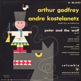 arthur godfrey - peter and the wolf