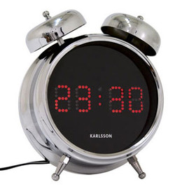 KARLSSON - Alarm clock Digibell Incl. transformer