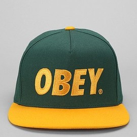 OBEY - OBEY The City Logo Hat