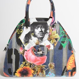 Vivienne Westwood - Anarchy Leather Print Handbag in Multi