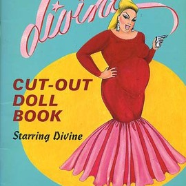 "St Martins Pr - ""The Simply Divine: Cut-Out Doll Book"" Illustration by Van Smith, 1983"