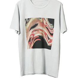 NADA. - Bent woman Tee / L.gray