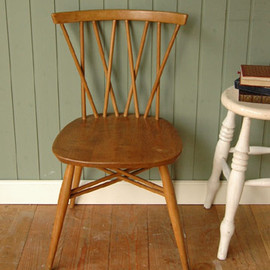 Ercol - X back chair
