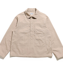 WORKADAY - Army Shirt-Cotton Ripstop-Khaki