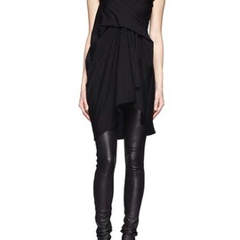 Rick Owens lilies - Gather front tank top