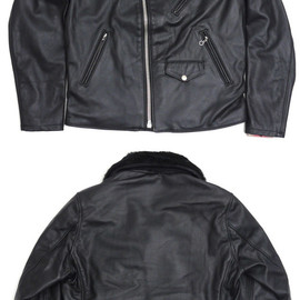 SUPREME - SchottPerfectoLeatherJacket(レザーライダースジャケット)BLACK230-000834-031x【新品】【smtb-TD】【yokohama】