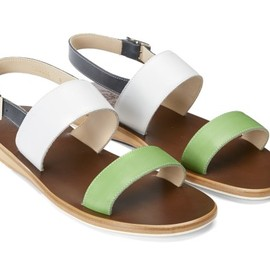 Mr. Hare - SANDAL GREEN/WHITE/NAVY