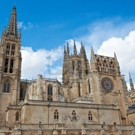 Burgos - Gothic Cathedral in Burgos, Spain