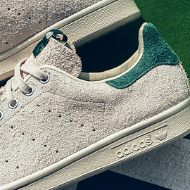 adidas Consortium, Juice - Stan Smith (Suede) - Tonal Grey/Forrest Green