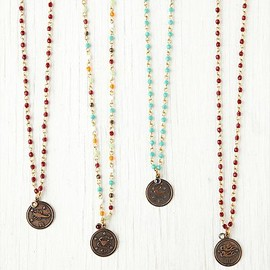 Free People - Birth Stone and Zodiac Rosary