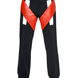 GIVENCHY - FW2014 STRETCH VISCOSE CADY TROUSERS
