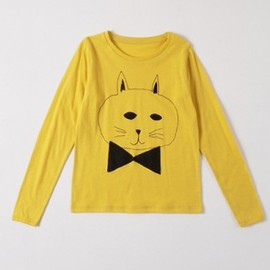 BOBO CHOSES - T-Shirt LS Cat