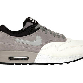 Nike - Nike Air Max 1 Premium Grey/White/Black