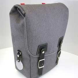 Philosophy Bags - Burnside  [ grey/black ]