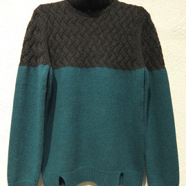 CARVEN - Basket Knit Pullover