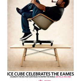 ICE CUBE - EAMES POSTER