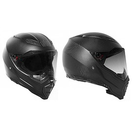 AGV - AX-8 NAKED CARBON BLACK MATT