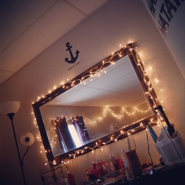mirror with lights☆