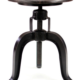 Burnham - Adjustable Height Table Stool industrial bar stools and counter stools