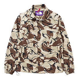 THE NORTH FACE PURPLE LABEL - Camouflage Print Mesh Coaches Jacket