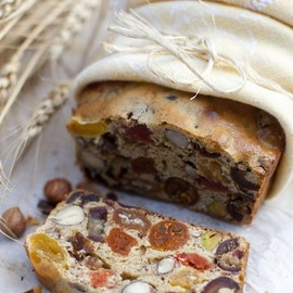 Fruit and nut bread