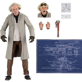 NECA - Back To The Future  7″ Scale Action Figure – Ultimate Doc Brown