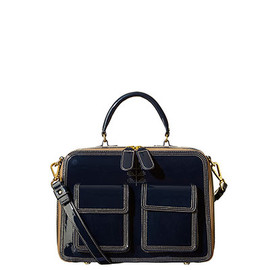 Orla Kiely - Patent Leather Bay Bag