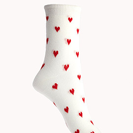 FOREVER 21 - Heart of Hearts Socks