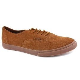 Vans - Authentic Low Suede Low Pro Lace Up Trainers